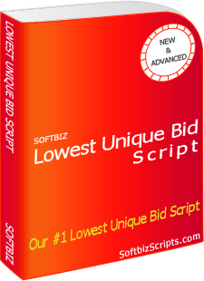 Lowest Unique Bid Script